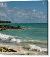 Bahamas Beach Acrylic Print