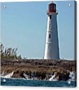 Bahamas Lighthouse Acrylic Print