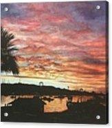 Bahia Inglesa Landscape  Acrylic Print
