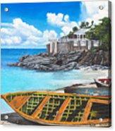 Baie Rouge Acrylic Print