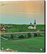 Baikal And The Village Acrylic Print