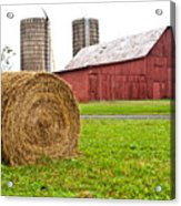 Bail And Barn Acrylic Print