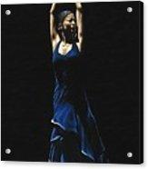 Bailarina A Solas Del Flamenco Acrylic Print