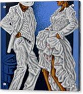 Baile De Figura Acrylic Print by Samuel Lind