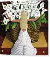 Baileyrae Lilies Acrylic Print