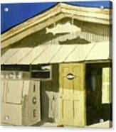 Bait Shop In Gasparilla Florida Acrylic Print