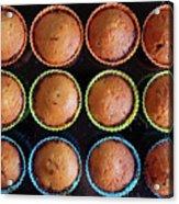Baked Cupcakes Acrylic Print