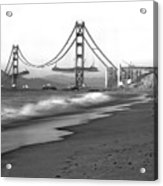 Baker Beach In Sf Acrylic Print
