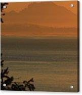 Cascade Sunrise Acrylic Print