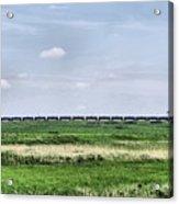 Bakken Crude On Rail Acrylic Print
