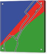 Baku Race Track Acrylic Print