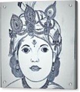 Bal Krishna Acrylic Print