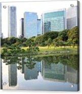 Balance In Tokyo Acrylic Print