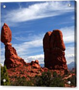Balanced Rock Arches National Park, Moab, Utah Acrylic Print