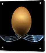 Balancing Egg Acrylic Print