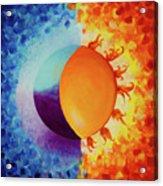 Balancing Sun And Moon Energies Acrylic Print