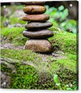 Balancing Zen Stones IIi Acrylic Print
