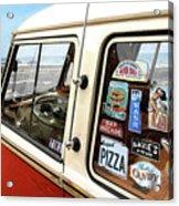 Balboa Bus Acrylic Print by Ron Regalado