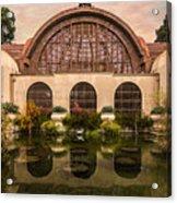Balboa Park Botanical Building Symmetry Acrylic Print