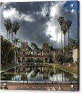 Balboa Park Fountain Acrylic Print
