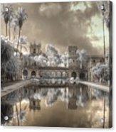 Balboa Park Infrared Acrylic Print