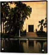 Balboa Pond Acrylic Print