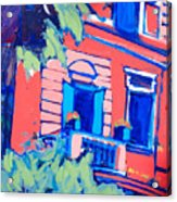 Balcone Acrylic Print