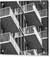 Balcony Colony Acrylic Print
