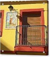 Spanish Balcony Acrylic Print