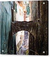 Balcony On The Arch Acrylic Print