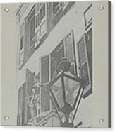 Balcony Railings Acrylic Print