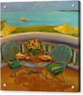 Balcony View On Milton Island Acrylic Print