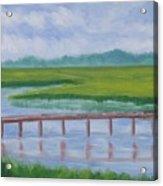 Bald Head Island Marsh Acrylic Print