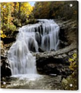 Bald River Falls In Autumn Acrylic Print