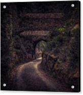 Balduinstein Castle_gateway Acrylic Print