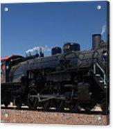 Baldwin Mikado 2-8-2 No 4960 Steam Locomotive Williams Arizona Acrylic Print