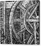 Bale Grist Mill Acrylic Print