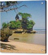 Balekambang Beach Acrylic Print