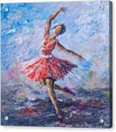 Ballet Dancer Acrylic Print