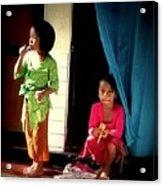 Bali Children Acrylic Print