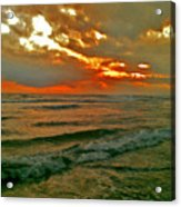 Bali Evening Sky Acrylic Print