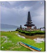 Bali Lake Temple Acrylic Print