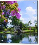 Bali Reflections Acrylic Print