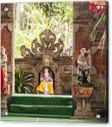 Bali Stage Acrylic Print