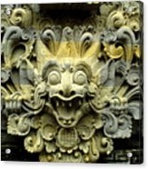 Bali Temple Art Acrylic Print