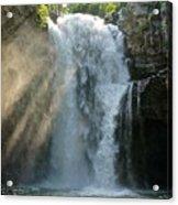 Bali Waterfalls Too Acrylic Print
