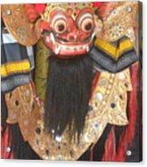 Balinese Barong Acrylic Print