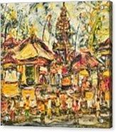Balinese Ceremony  Acrylic Print