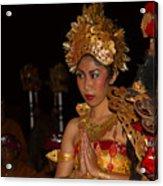 Balinese Dancer Acrylic Print
