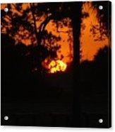 Ball Of Fire Acrylic Print